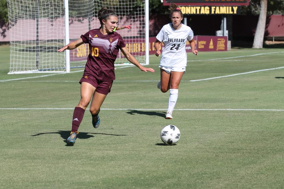 ASU Soccer: Sun Devils fight for a draw against No  18