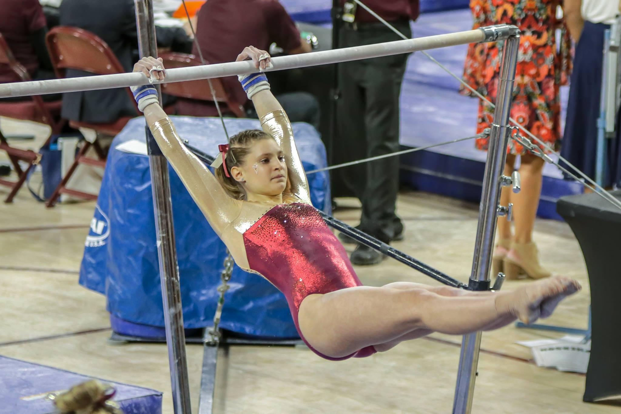 ASU Gymnastics: No  13 Gym Devils Come Out Victorious in