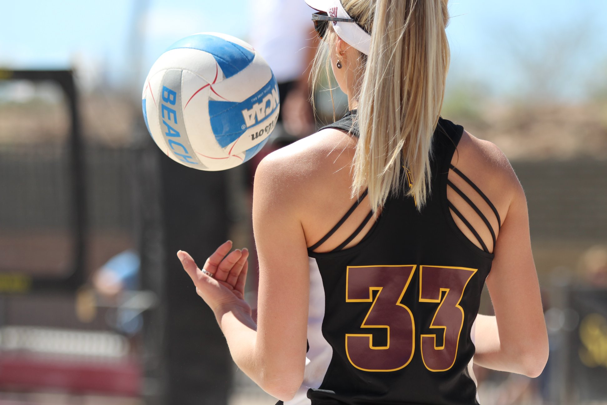 Asu Beach Volleyball Sand Devils Fall In The First Day Of The Asu Invitational Cronkite Sports