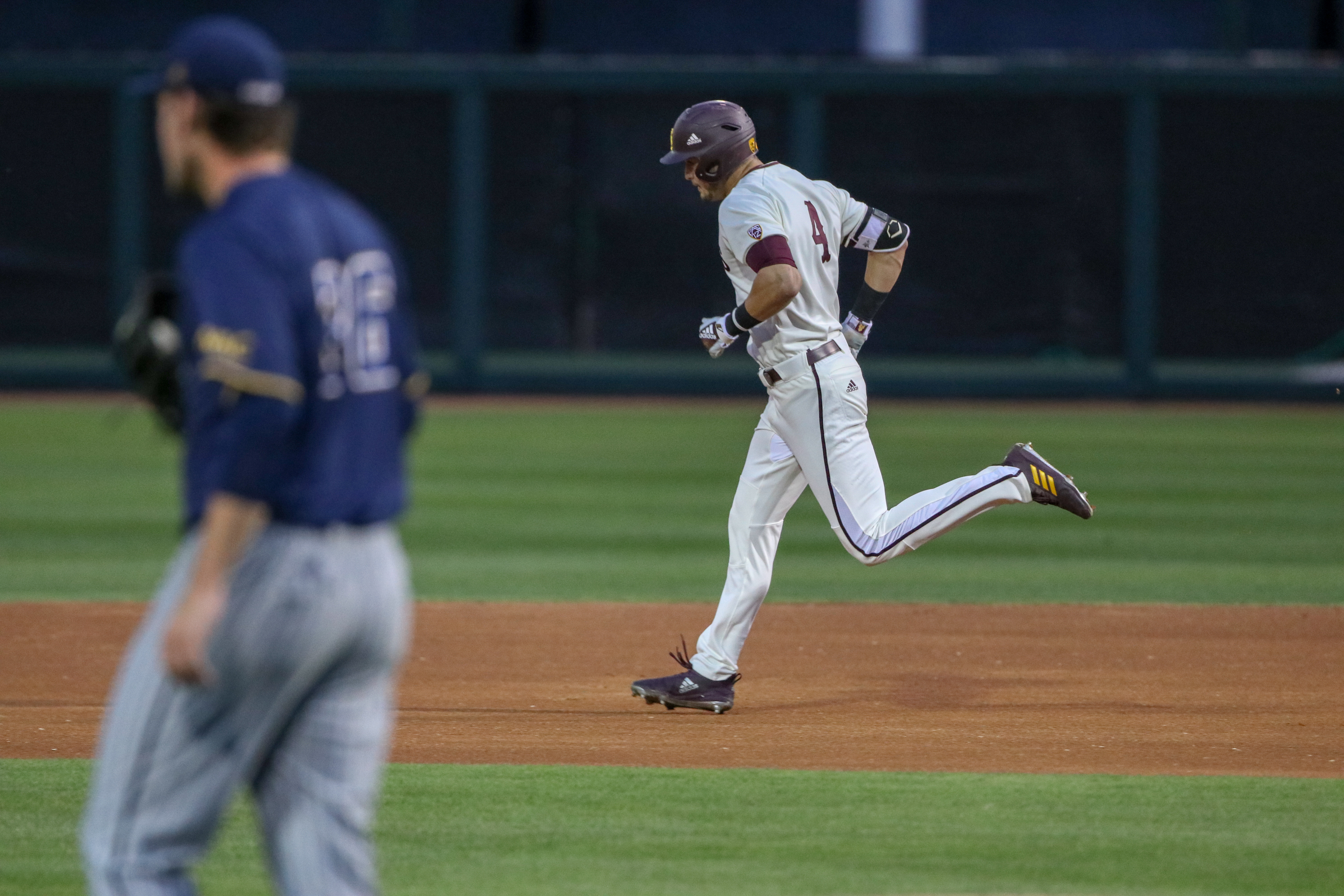 ASU Baseball: Bishop's two bombs propel Devils to 15-9